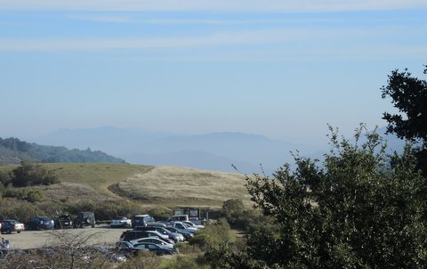 Loma Prieta peak in the distance